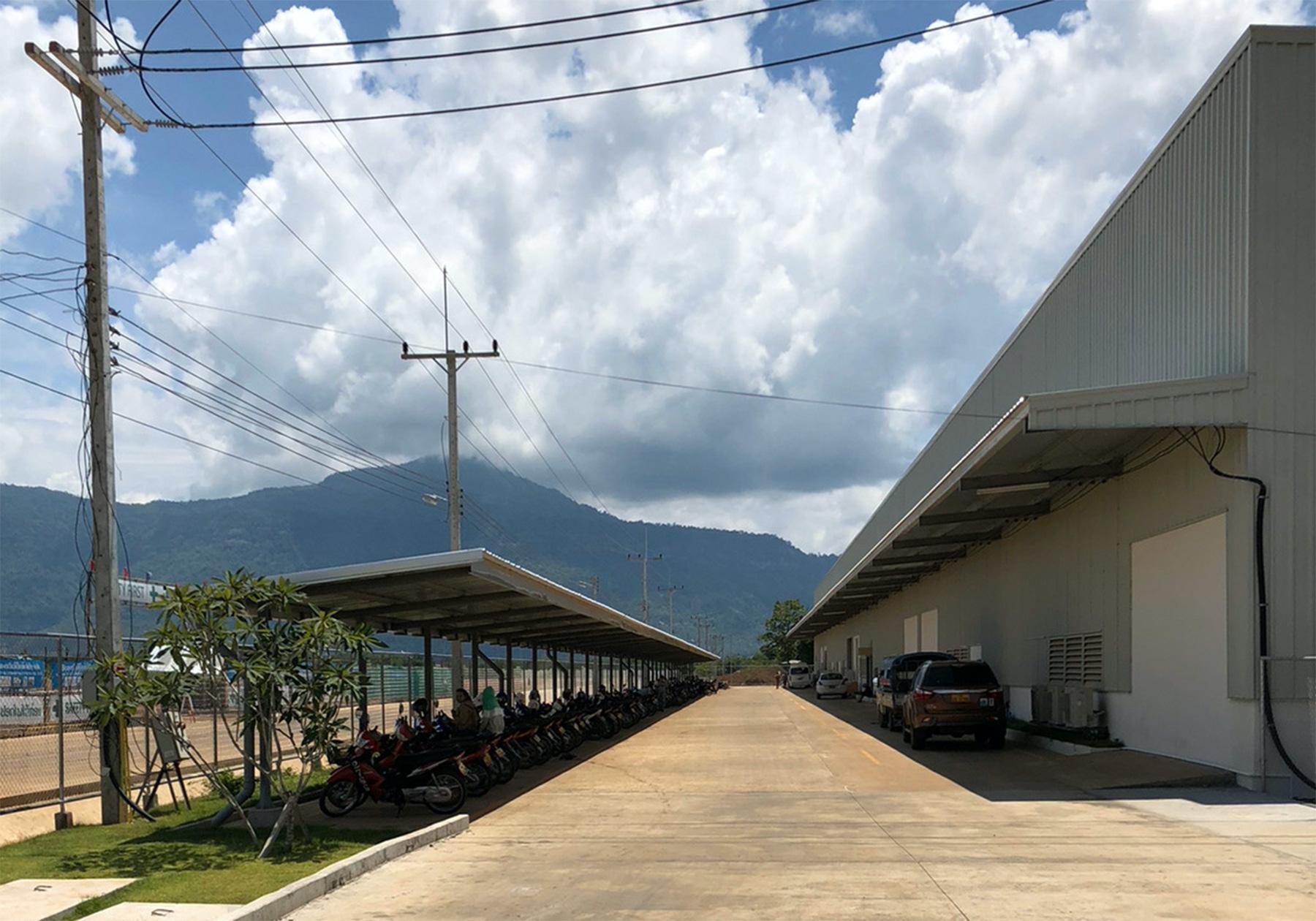 ラオス工場